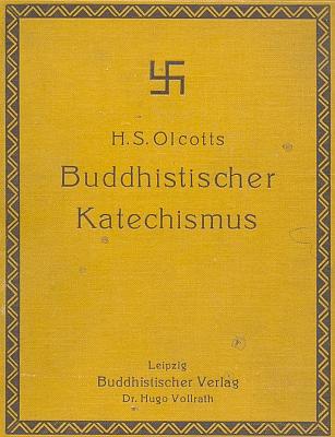 Obálka (1908) Olcottova buddhistického katechismu