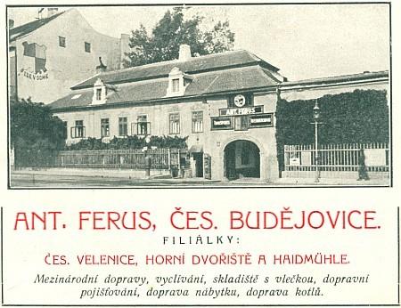 Dům U Ferusů v Č. Budějovicích...