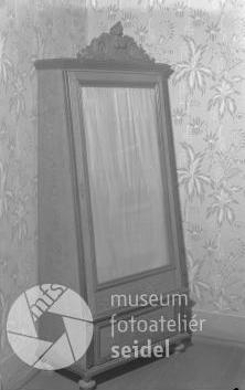 """Tento snímek z prosince 1937 je vzáznamech českokrumlovského fotoateliéru Seidel psán na jméno """"Karl Ferus Budweis"""""""