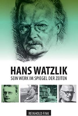 Obálka jeho monografie o Hansi Watzlikovi (tradition, Hamburg, 2020)...