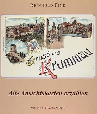 Obálka (2001) knihy starých pohlednic, kterou vydalo nakladatelství Morsak v Grafenau