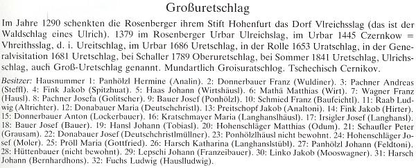 V rodném Černíkově je Jakob Fink psán mezi majiteli usedlostí v roce 1945 hned dvakrát, u č. 4 a 14