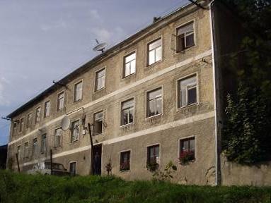 Hornoplánský dům čp. 73, kde s rodinou žil
