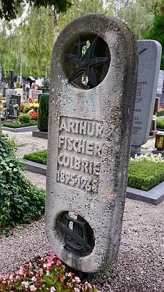 Hrob na hřbitově sv. Barbory v Linci