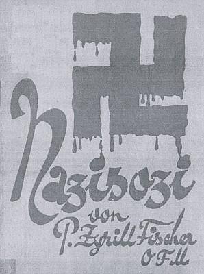 Obálka (1932) jeho protinacistické brožury