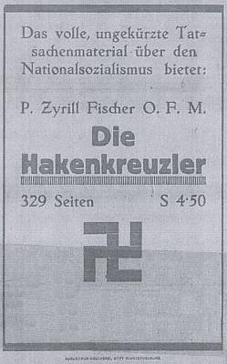 Inzerát (1932) na knihu, z níž je brožura výtahem