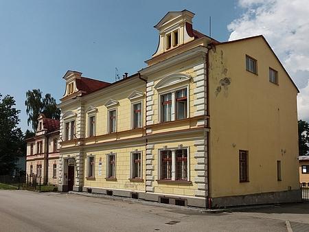 Rodný dům čp. 178 v dnešní Jiráskově ulici v Horní Plané