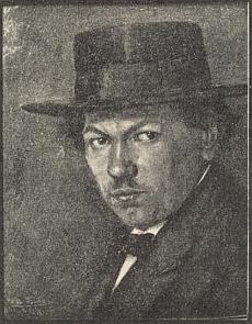 Autoportrét z roku 1918
