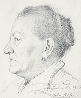 Podobizna matky z roku 1923