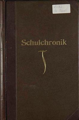 Desky svatotomášské školní kroniky zlet 1932-1938