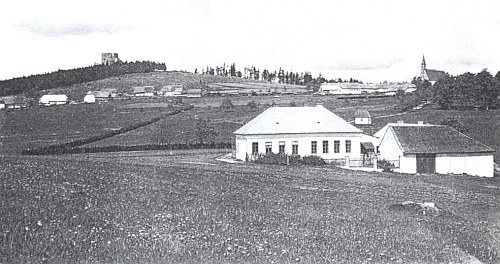Někdejší škola ve Svatém Tomáši