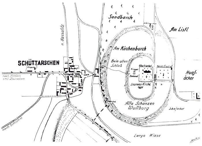 Plán farní obce Štítary