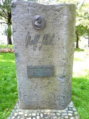 Památník Mathiase von Flurl v bavorském městě Straubing