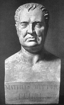 """Za druhé světové války zničená busta z mnichovského """"Jižního hřbitova"""""""