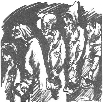 "Kresba MUDr. Karla Fleischmanna ""Do transportu vystrojení"""