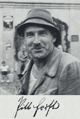 Na snímku ze srazu ve Volarech roku 1930