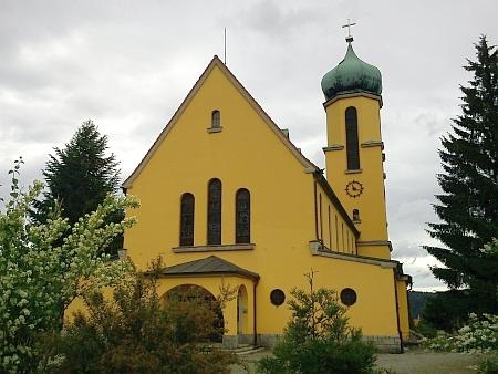 """""""Jeho"""" kostel ve Větřní dodnes okouzluje svou """"venkovskou"""" monumentalitou"""