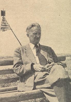 Snímek doprovázející jeho nekrolog v krajanském měsíčníku