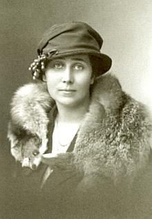 Ilse Spiro, roz. Waydelin, na snímku z roku 1921