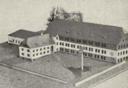 Nerealizovaný Foschumův projekt obecné školy v Polné na Šumavě (Stein) z časů druhé světové války