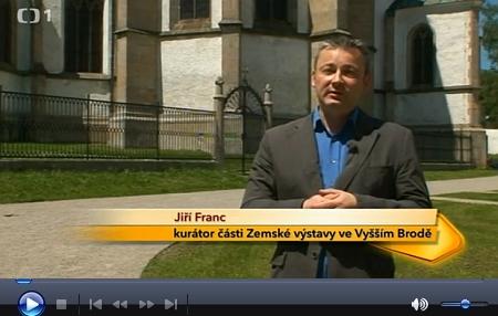 V reportáži České televize z cyklu Toulavá kamera o Zemské výstavě 2013 hovoří i Jiří Franc