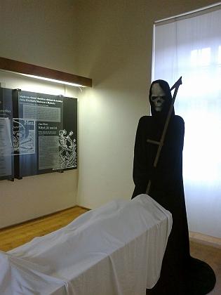 Výstava Místa setkávání v klášteře Zlatá Koruna