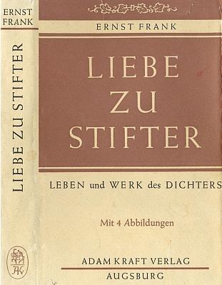 Obálka a záložka (1968) jiné z jeho knih (nakladatelství Kraft, Augsburg)