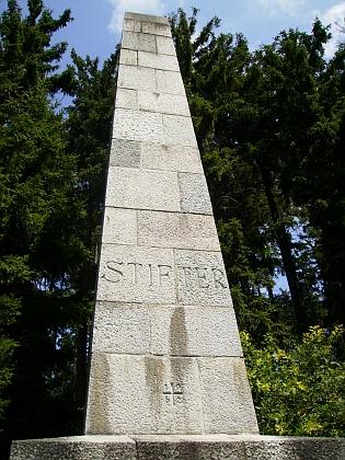 Stifterův pomník nad Aigenem