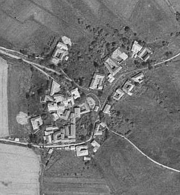 Pasovary  na leteckých snímcích z let 1949 a 2008