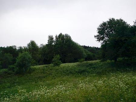 Tady stával Hradový (Kastlern)