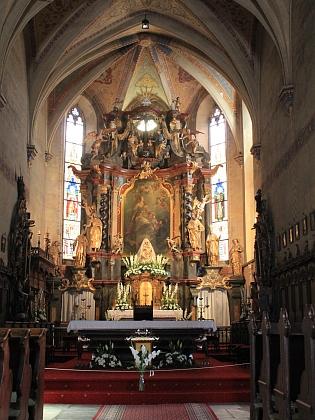 Arciděkanský kostel sv. Markéty v Kašperských Horách