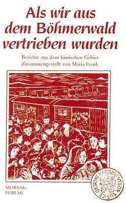 """Obálka (1991) její knihy s grafikou Waltera Grössla o vyhnání z""""Královácka"""", vydané také vnakladatelství Morsak"""