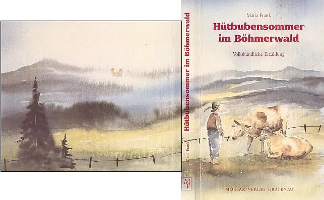 Šumavský motiv s hradem Kašperkem na obálce jiné z jejích knih vydané v nakladatelství Morsak (1993)