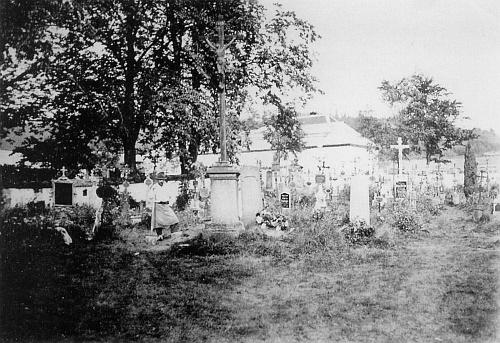 Jablonecký hřbitov, jak kdysi vyhlížel