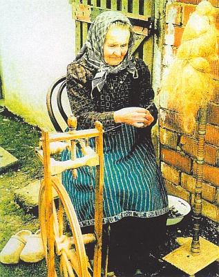 Maria Franzová (1888-1968), roz. Gruberová z Květné čp. 3, Erwinova babička