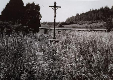 Snímek hřbitova z roku 1966