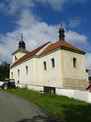 Kostel sv. Filipa a sv. Jakuba ve Frantolech, které měl svěřeny doduchovní péče
