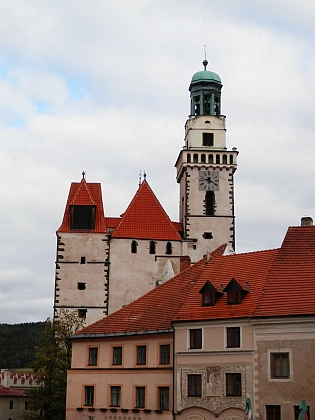 Prachatický kostel sv. Jakuba