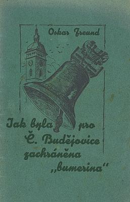 Obálka (1932) německé a české verze jeho publikace