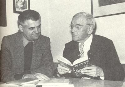 S nakladatelem Erichem Stecherem (Morsak Verlag) v roce 1978