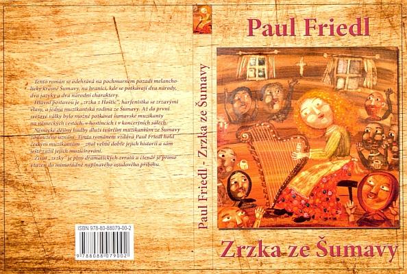 """Jeho kniha """"Die Füchsin von Huschitz"""" vyšla roku 2015 péčí Občanského sdružení Karla Klostermanna i česky"""