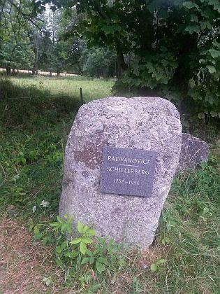 Památník zaniklých Radvanovic (viz iFritzBubl)