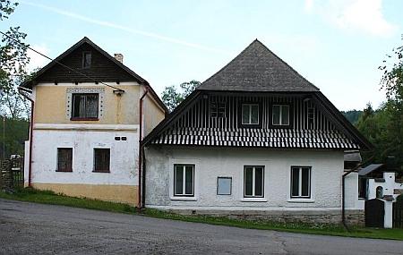 Prababička pocházela ze stavení čp. 17 v Klášterci