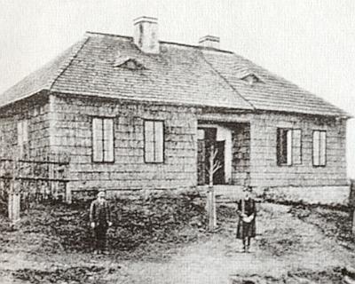 Stará škola na Kozích Hřbetech