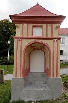 Dnes je kaple již bez obrazu, což zatím platí i po obnově, která proběhla v roce 2017