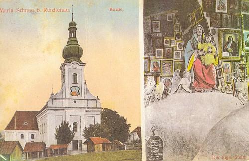 ... a na staré pohlednici (viz i Emma Kletzenbauerová)