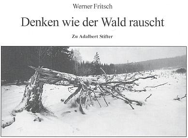 Záhlaví jeho textu v knize Böhmerwald s fotografií Martina Milforta