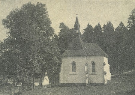 Pseudogotická kaple sv. Markéty v lázeňském parku