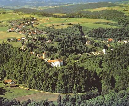 Fürsteneck, kde se narodil i zemřel