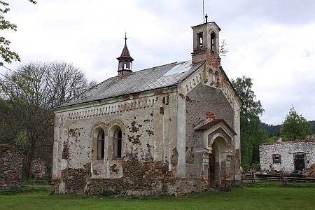 Kaple sv. Antonína Paduánského u Jiříkova dvora (Girglhof)